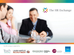 The HR Exchange