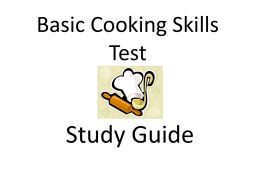 PP_-_Study_Guide_Basic_Cooking_Skills_Test_