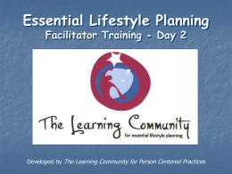 ELP Facilitator Day 2 Slideshow