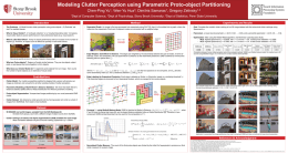 Modeling Clutter Perception using Parametric Proto