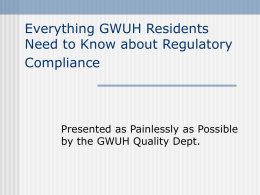 Everything the Medical Teams Need to Know about Regulatory