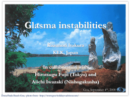 CGC and the Glasma - Tata Institute of Fundamental Research