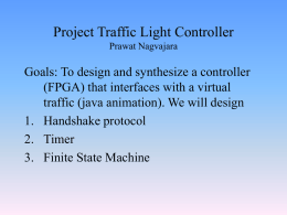 Project Traffic Light Controller