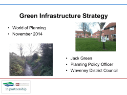 Community Infrastructure Levy Waveney's experience so far