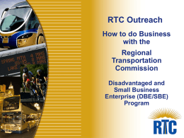 How to Do Business with The RTC