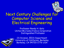 EECS at UC Berkeley