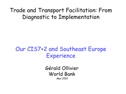 Global Facilitation Partnership for Transportation and Trade