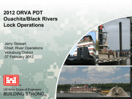 Development of the Ouachita/Black River Project Delivery Team