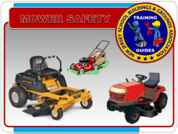 Mower Safety - New Jersey School Building & Grounds