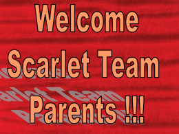 Welcome to Coral!!! - South Windsor Public Schools