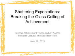 Shattering Expectations: Breaking the Glass Ceiling of