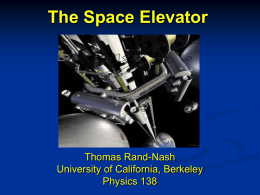 The Space Elevator