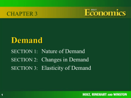 Chapter 3 Demand - Mr Brennan's Website