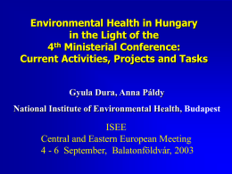 Health and Environment - ISEE