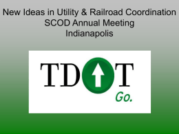 Shaw Utilities - AASHTO - Subcommittee on Design