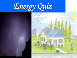 Ecology Quiz 1 - Mr. Burrell's 8th Grade Science Class