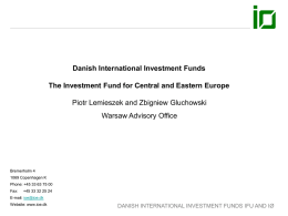 The Investment Fund for Central and Eastern Europe