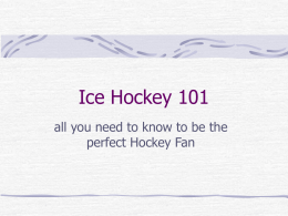 Ice Hockey 101 - Kate's Kintail: the museum