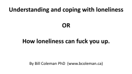 gay loneliness and coping