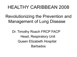 Revolutionizing the Prevention and Management of Lung Disease.