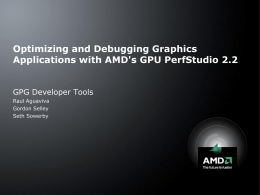 GPU PerfStudio 2.2 and Unigine Heaven