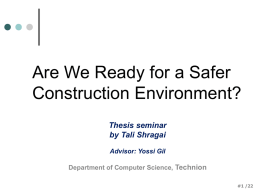 Are We Ready for a Safer Construction Environment