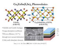Solution-Processed Cu2ZnSn(S,Se)4 Photovoltaics