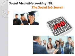Launching a Proactive Job Search