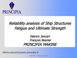 Ship Reliability Analysis