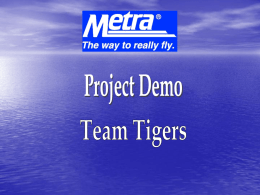 Project Demo