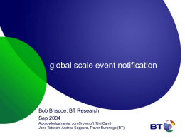 global scale event notification