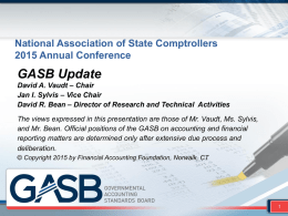 National Association of State Auditors, Comptrollers and