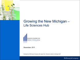 "Developing the ""New Michigan"""