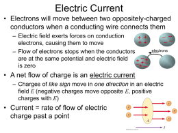 Electric Current - Ohio Wesleyan University