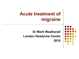 Myaesthenia gravis - London Headache Centre