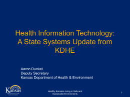 State Public Health Reporting for Hospitals