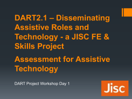 Assessment for Assistive Technology