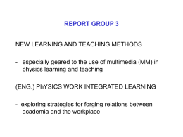 REPORT GROUP 3