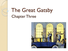 The Great Gatsby - Year 12 English Lit Blog