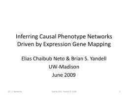 Inferring Causal Phenotype Networks