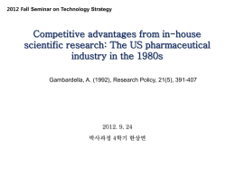 TFP Measurement of Korean Firms