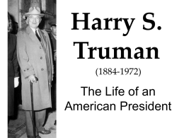 harrytruman - Harry S. Truman Library and Museum