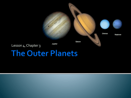The Outer Planets - Mother Teresa Regional School