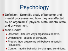 Psychology - Keansburg School District