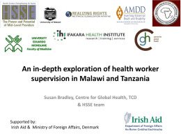 An in-depth exploration of health worker supervision in