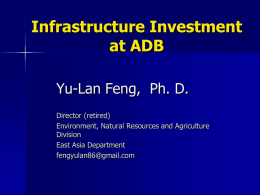 Business Opportunities at Asian Development Bank
