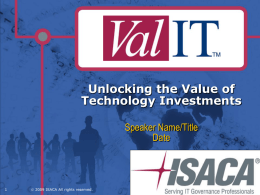 Unlocking the Value of Technology Investments