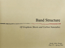 Band Structure - Ohio University
