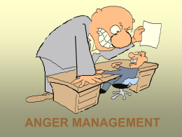 ANGER MANAGEMENT - Management Teachers Consortium