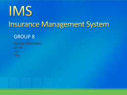 IMS Insurance Management System